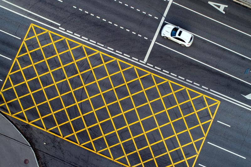 Введение нового госта по разметке дорог в России